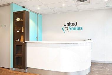 United Smiles Reception Area